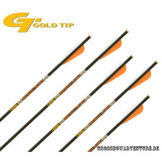 6 Stück 22 GoldTip Ballistic 425 Armbrust Bolzen Carbon