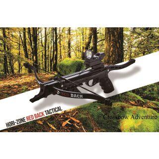 Pistolenarmbrust HORI-ZONE Pistol Crossbow Redback Tactical Deluxe black 80lbs