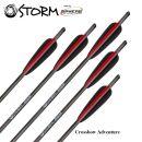 6 Stück 20 Sphere Storm Armbrust Bolzen Carbon