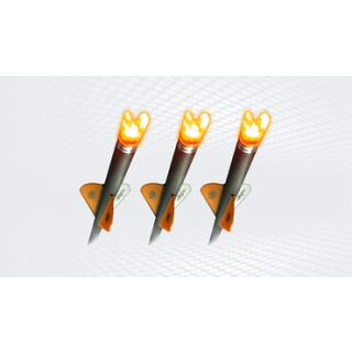 3 Stück Leuchtnocken für Ravin R9, R10, R15, R20 Bolzen