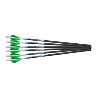 6 Stück 18 Excalibur Proflight Carbonbolzen